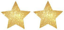 Glitter Star Nipple cover - 1 pair