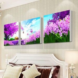 Purple Lavender Diamond Painting