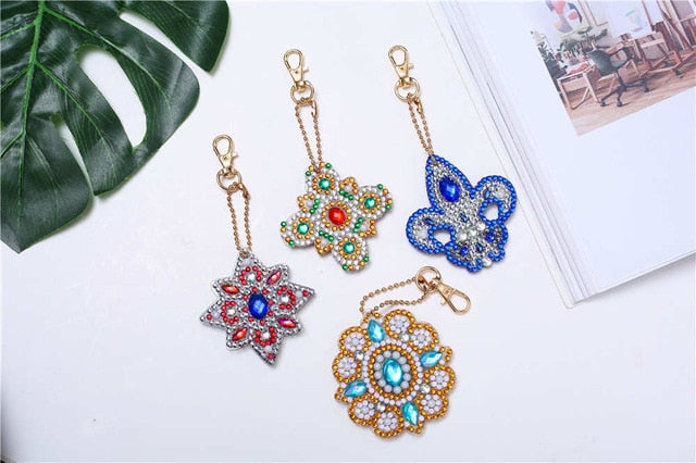 3-4-5PCS Special Shaped Full Diamond Painting