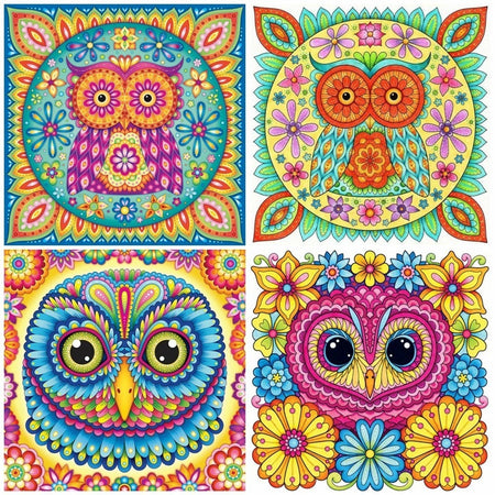 Owl Diamond Mosaic Kit