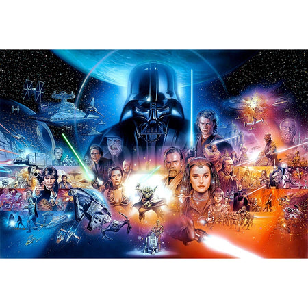 Star Wars Cross Stitch Diamond Painting