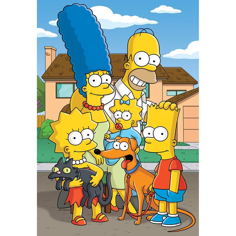 Simpsons 5D DIY Diamond Painting