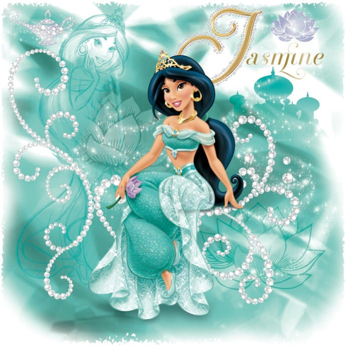 Cartoon Princess Mosaic Diamond Painting Kit