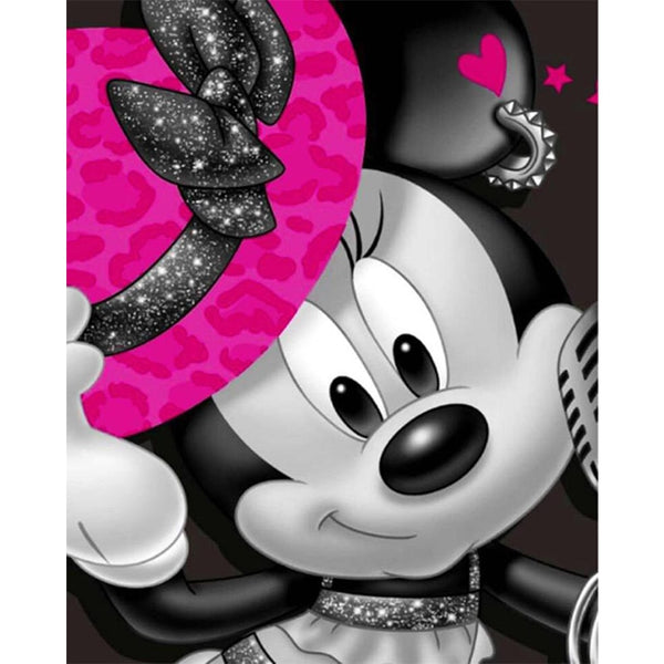 Cute Mouse Cartoon Cross Stitch Kit