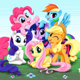 My Little Pony Cartoon 5D Diamond Painting