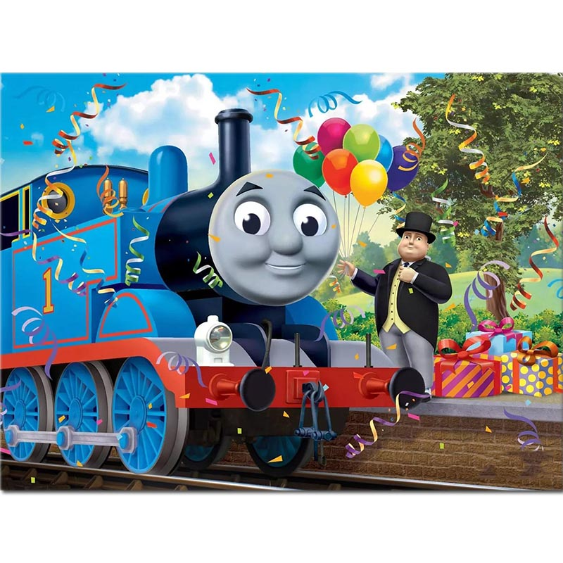 Thomas Cartoon 5D Diamond Painting