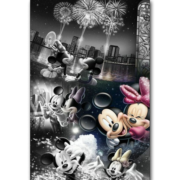 Mickey Mouse Couple 5D Diamond Painting