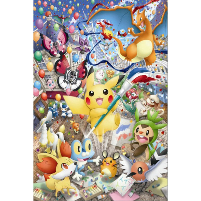 Pokemon Cross Stitch Kit Art