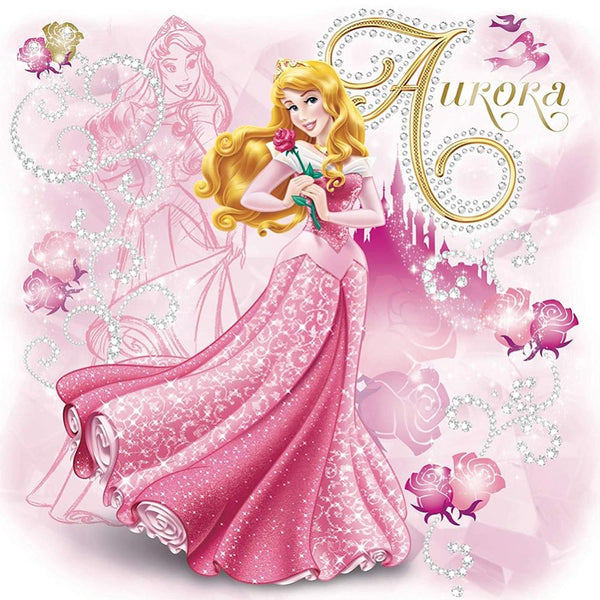Aurora Princess Mosaic Diamond Painting