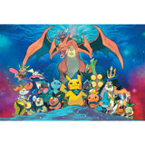 Pokemon Cartoon Diamond Painting