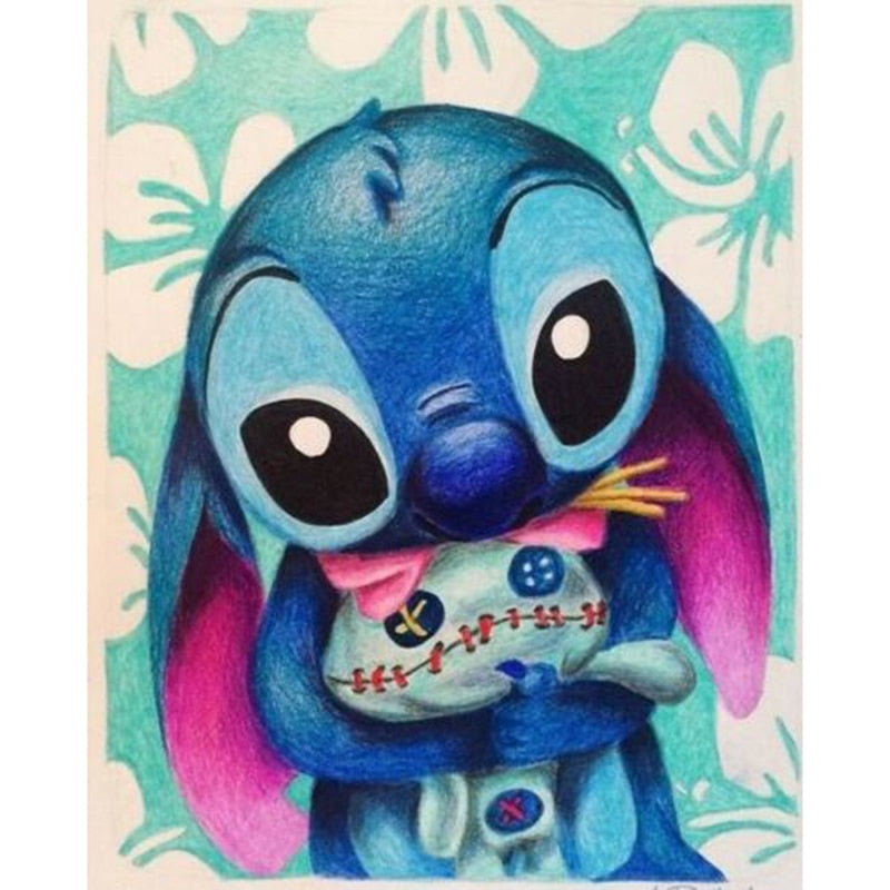 Lilo & Stitch Diamond Painting