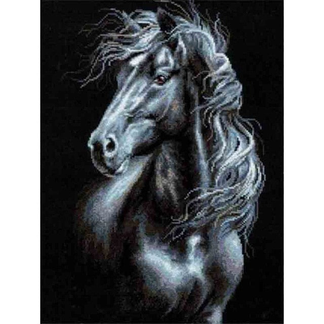 Horse Series Diamond Mosaic
