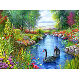 Nature Lake 5D Painting