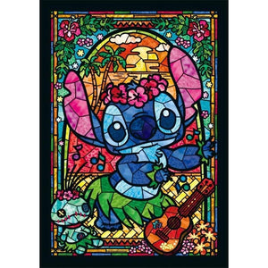 Cartoon Mosaic Cross Stitch Kit