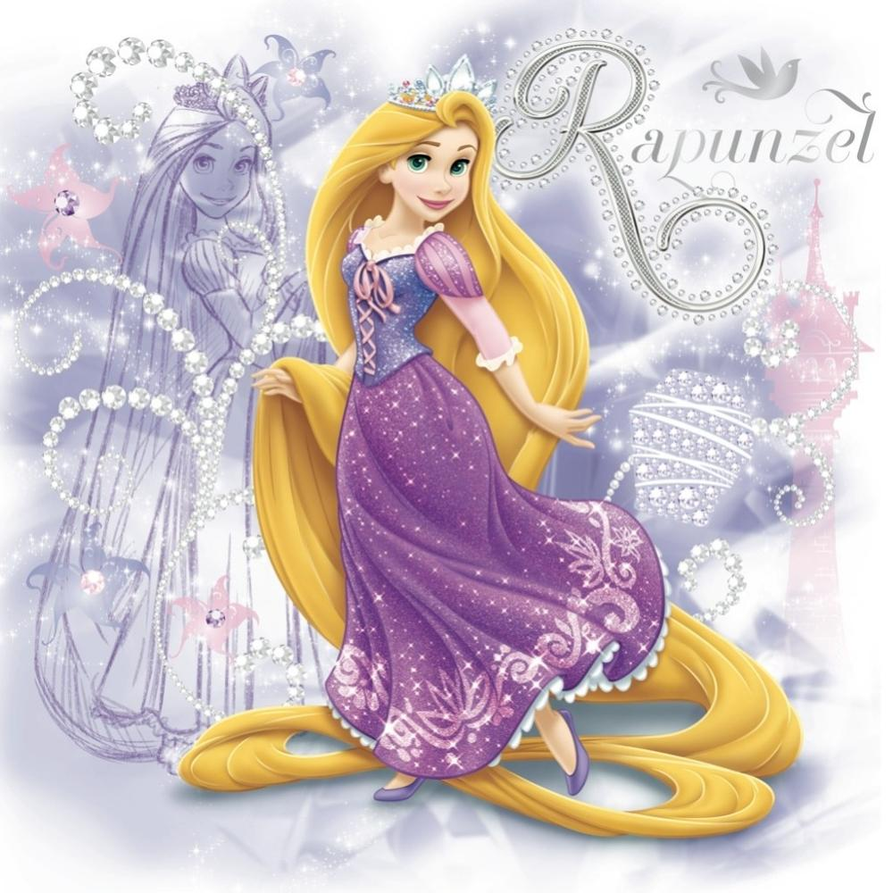 Princess Rapunzel Embroidery Cross Stitch Art
