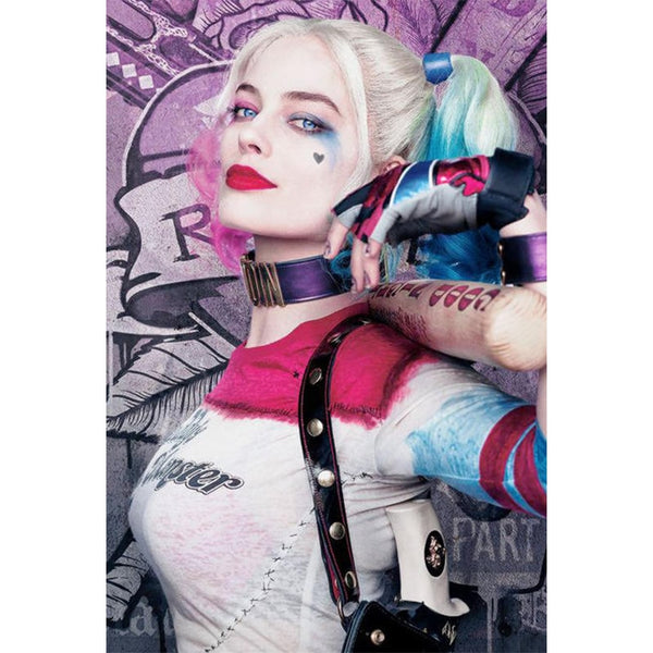Harley Quinn Suicide Squad Diamond Painting