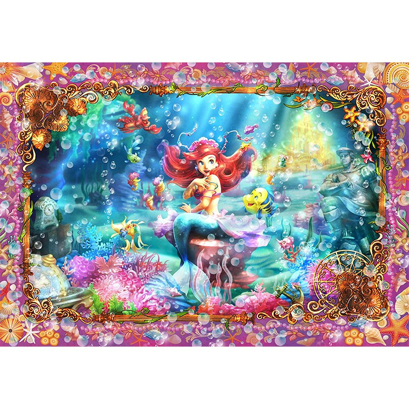 Little Mermaid Ariel 5D Diamond Painting