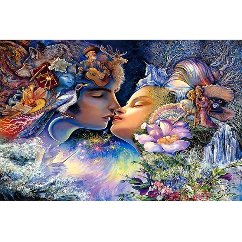 Princess Fantasy Fairy DIY Cross Stitch Kit