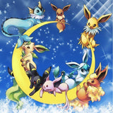 Pokemon Cross Stitch Round Diamond Painting