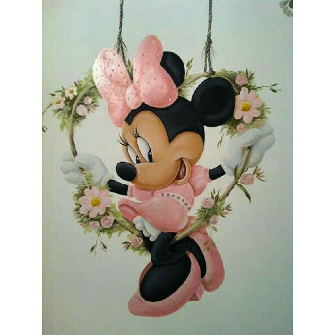 Cartoon Mouse Picture Diamond Painting
