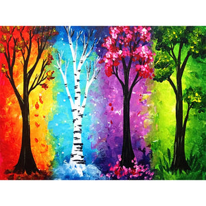 Season Tree Diamond Painting