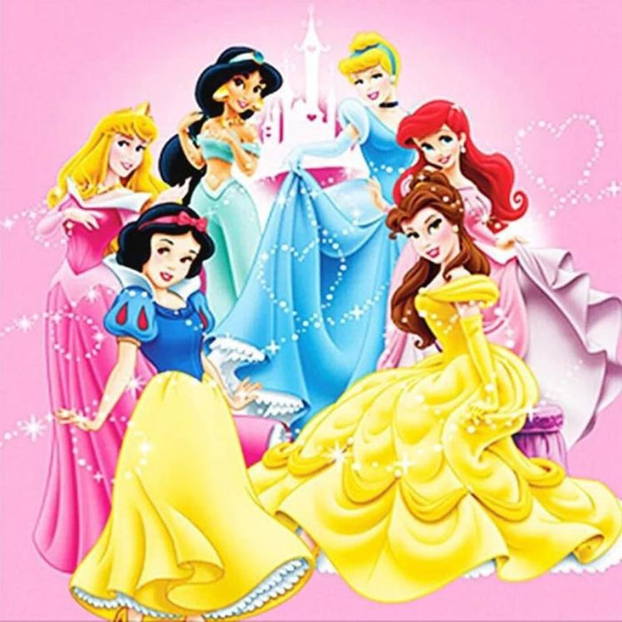 Cartoon Princess Picture Of Rhinestone