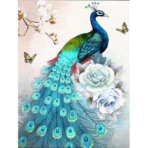 Peacock Diamond Painting 5d