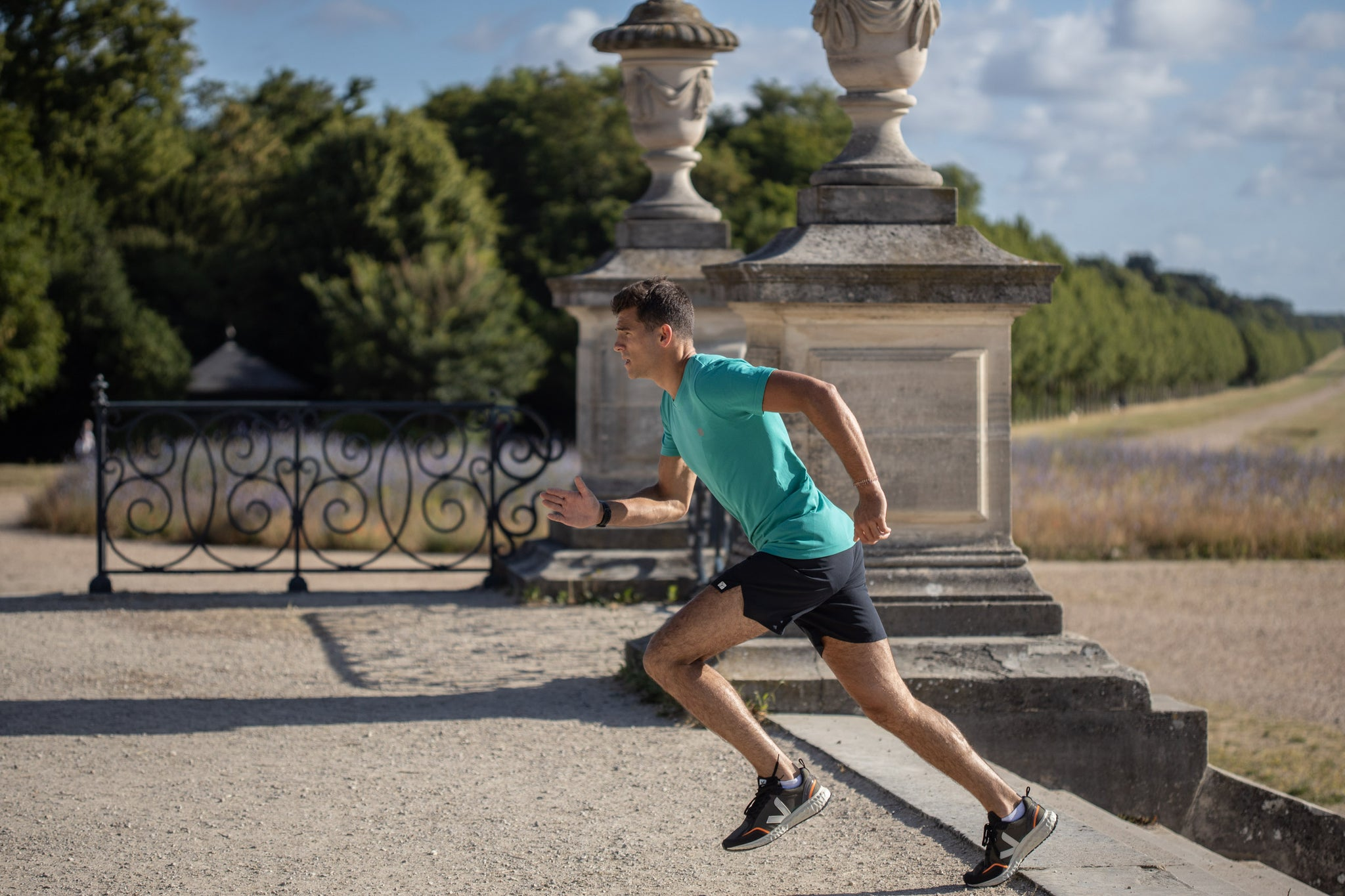 Le short running & fitness hommes.