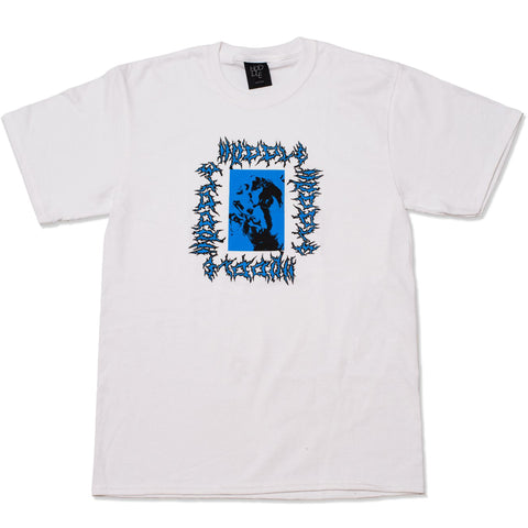 HODDLE - KNEAD IT TEE - WHITE