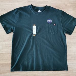 DICKIES - HEAVYWEIGHT CREW TEE - HUNTER GREEN