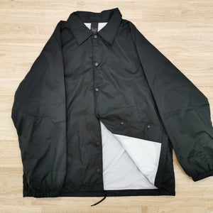 DICKIES - SNAP FRONT JACKET - BLACK