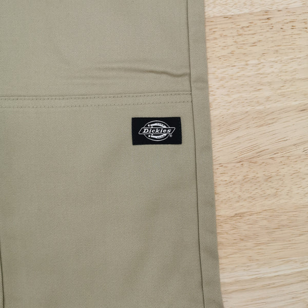 DICKIES - 811 SKINNY STRAIGHT DOUBLE KNEE WORK PANT - KHAKI