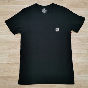 INDEPENDENT - T/C WORK POCKET TEE - BLACK