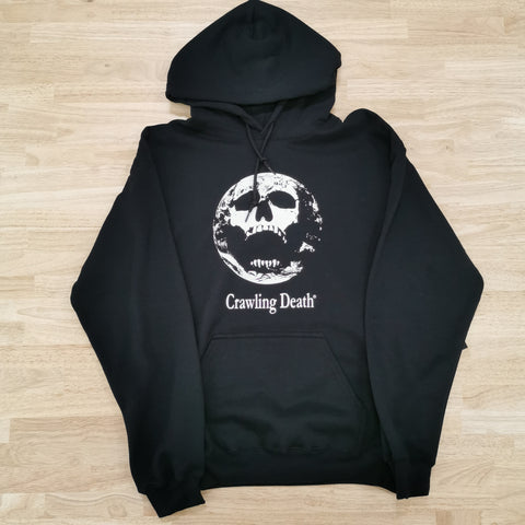 CRAWLING DEATH - EARTH SCREAM HOOD - BLACK