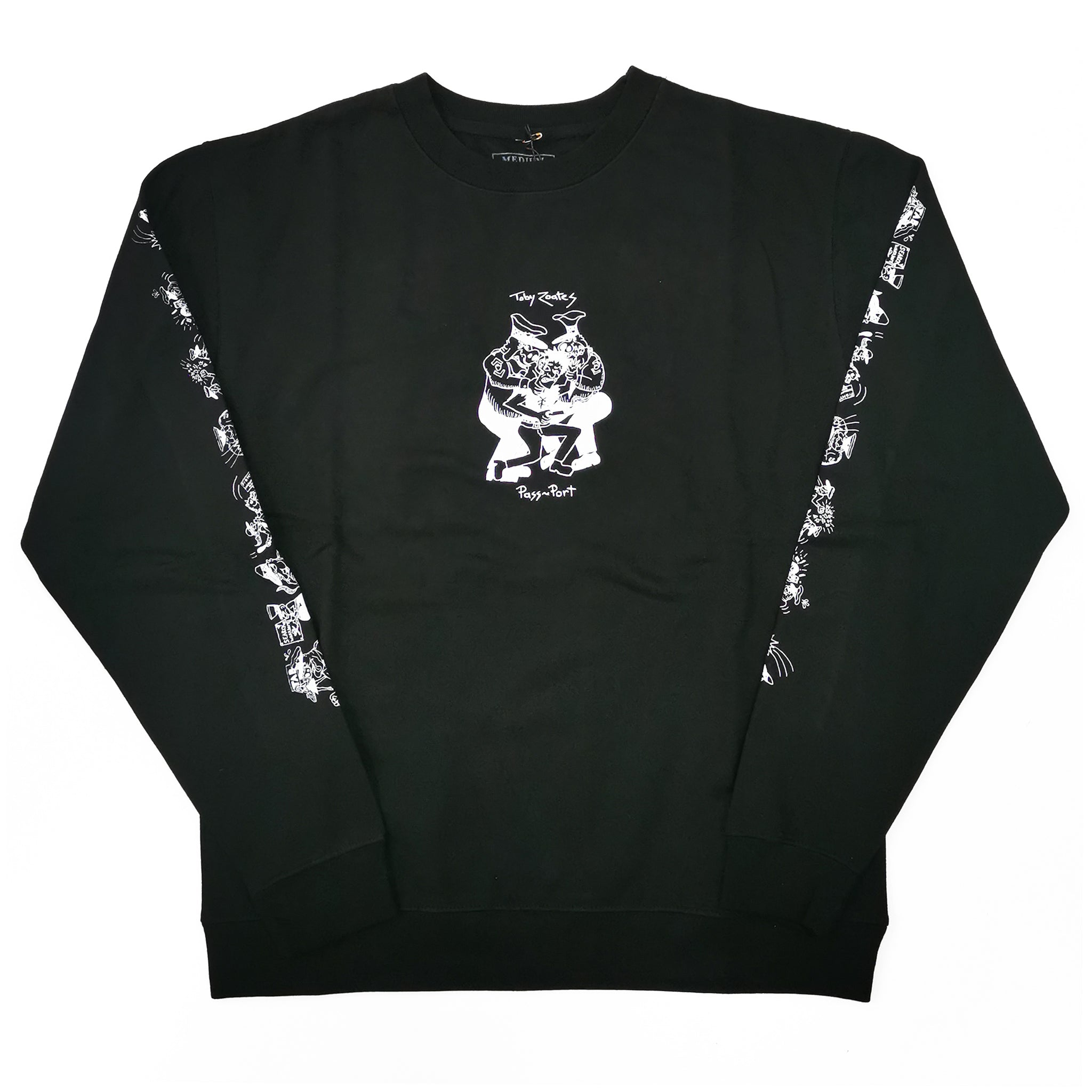 PASSPORT - TOBY ZOATS COPPERS LONG SLEEVE - BLACK