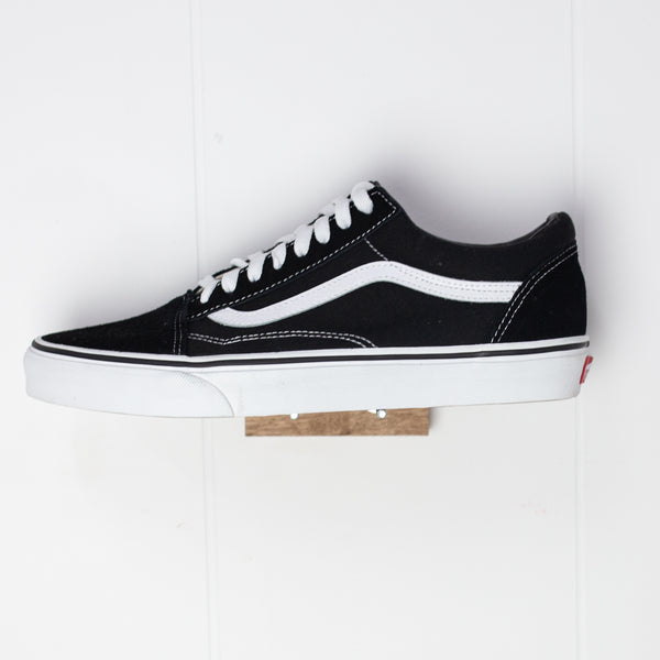 VANS - OLD SKOOL - BLACK/WHITE