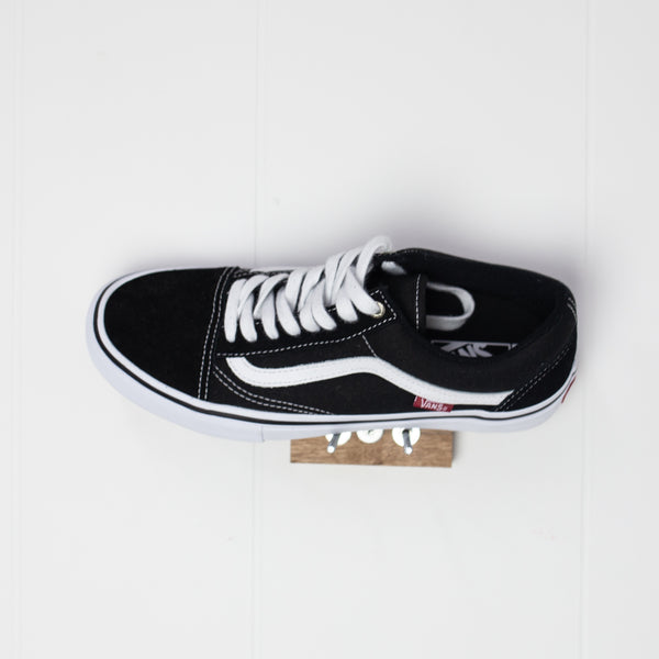 VANS - OLD SKOOL PRO - BLACK/WHITE