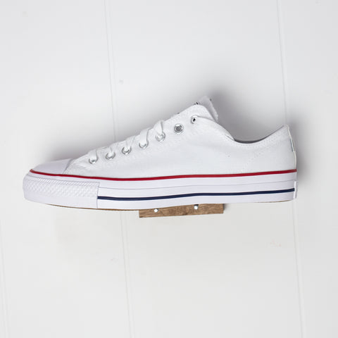 CONS - CTAS PRO LOW CANVAS - WHITE/RED/BLUE
