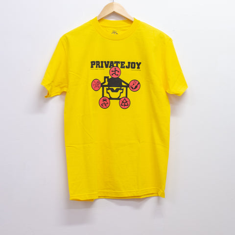 PRIVATE JOY - BIZ TEE - YELLOW