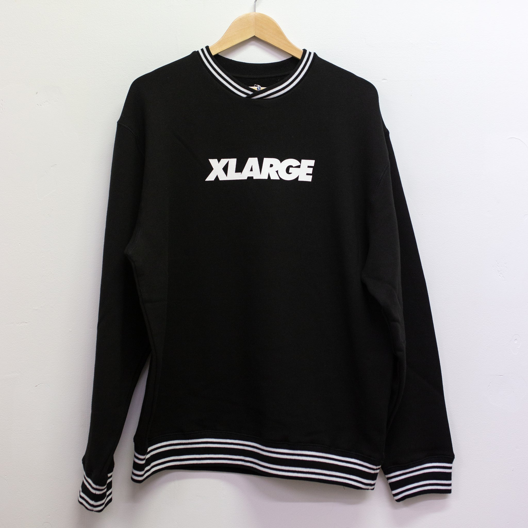 XLARGE - HOCKEY CREW - BLACK