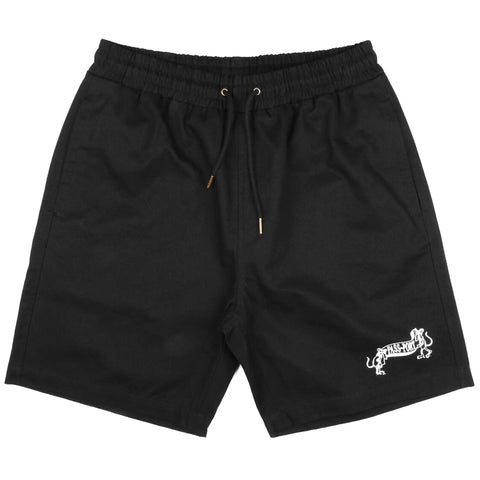PASSPORT - MISSING TILDE SHORTS - BLACK