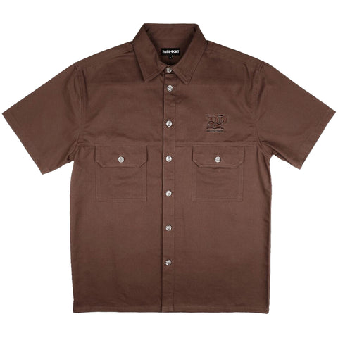 PASSPORT - SPARKY SHORT SLEEVE SHIRT - CHOC