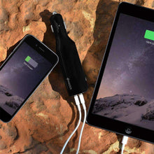 Load image into Gallery viewer, AMZER 2800mAh 2-Port USB Power Bank Car Charger