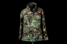 Load image into Gallery viewer, Camo Long Sleeve Button-Up Shirt