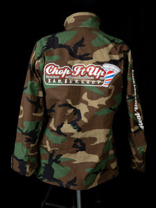 Camo Long Sleeve Button-Up Shirt