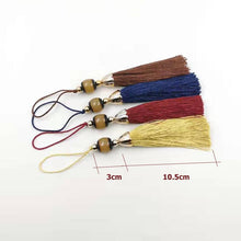 2020 New Tassels Resin beads Tasbih fringe Tassel Red and yellow Blue Brown Color DIY fashion parts for misbaha - Bashatasbih تحميل الصورة في عارض المعرض
