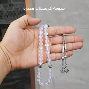 Austrian Crystal tasbih 33 66 99 beads with Metal tassel New style Crystal women prayer beads gift Muslim Rosary - Bashatasbih