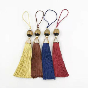 2020 New Tassels Resin beads Tasbih fringe Tassel Red and yellow Blue Brown Color DIY fashion parts for misbaha - Bashatasbih