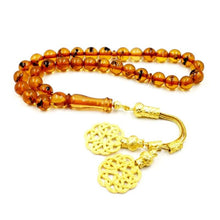 Eid gift For Muslim Real insect Resin Rosary Tasbih prayer beads Man's Accessories Misbaha Islamic insect Bracelets - Bashatasbih تحميل الصورة في عارض المعرض
