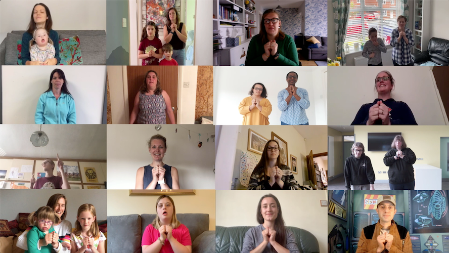 Making The Blessing accessible with Makaton